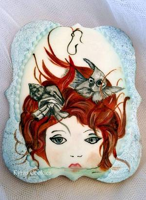 Stories The little Mermaid - Cake by Anna Bonilla