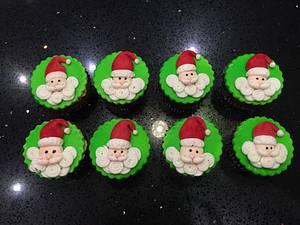 Christmas cupcakes - Cake by CakesbyAnusha