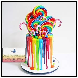"""Shan's Lollipop Christmas"" - Cake by Allways Julez"