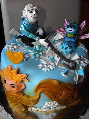 Rise of the Guardians - Jack Frost - Cake by Nagy Kriszta