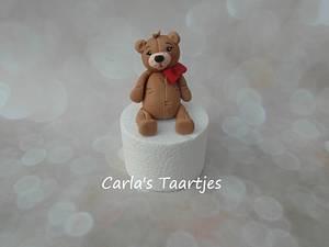 cute little bear - Cake by Carla