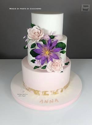 Flowers cake - Cake by Mariana Frascella