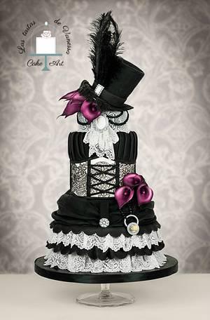 Vintage dress  - Cake by Vanessa Rodríguez