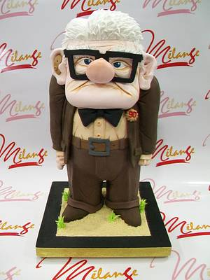 """""""Mr CARL"""" From """"UP"""" - Cake by SONIA PORCÚ"""