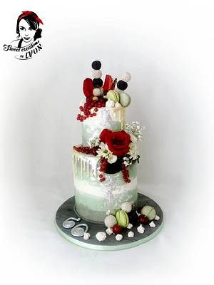 Drip Cake For The Gentleman - Cake by Ivon