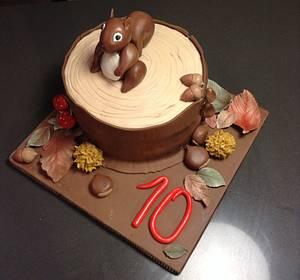 A little squirrel - Cake by Eleonora Del Greco
