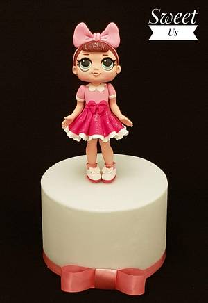 Fancy - L.O.L. Pop Project for Project Unicorn - Cake by Gabriela Doroghy