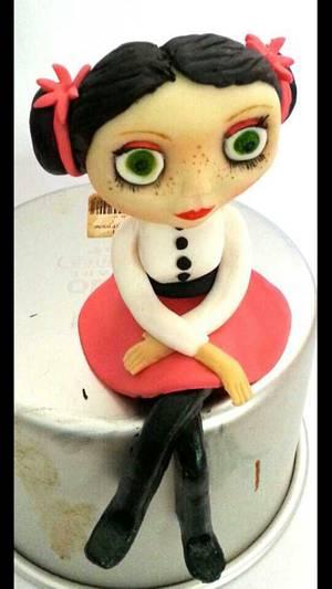 finished blythe doll - Cake by Martina Kelly