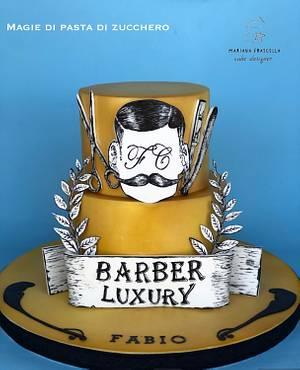 Barber  - Cake by Mariana Frascella