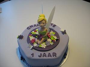 Tinkerbell Cake - Cake by Miky1983
