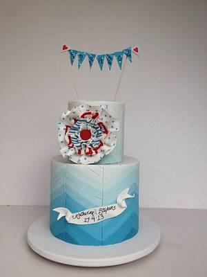 Carnival engagement - Cake by Louisa Massignani