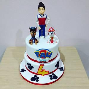 Paw Patrol - Cake by Valeria Antipatico