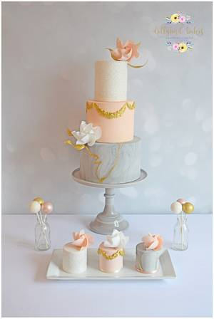 Opulence & Sparkle - Cake by Dollybird Bakes
