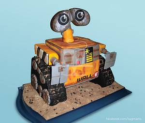 Wall-e - Cake by SayangManis