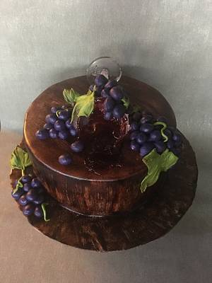 Red Red Wine - Cake by Doroty