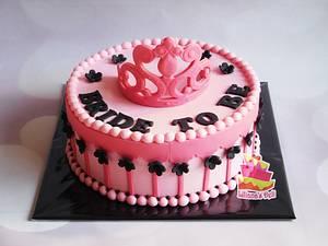 Princess cake - Cake by Liliana Vega