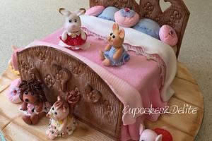 Sylvanian Families Sleepover Cake - Cake by Cupcakes2Delite