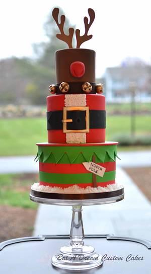 Merry Christmas! - Cake by Elisabeth Palatiello