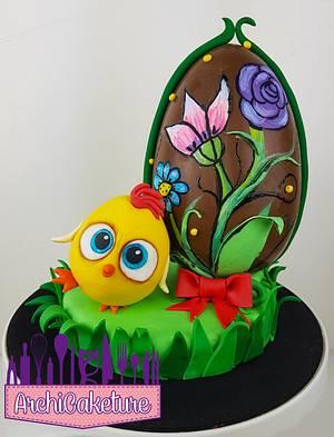 Happy Easter - Cake by Archicaketure_Italia