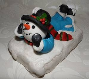 Let it snow! - Cake by Sweet Baking Babes