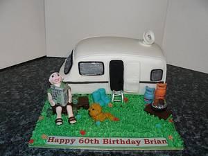 Caravan / Camping Cake  - Cake by Krazy Kupcakes