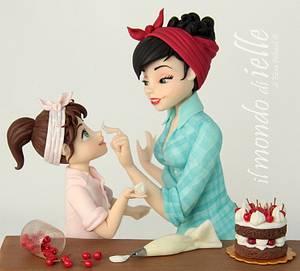 Mom - Cake by il mondo di ielle