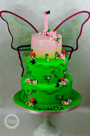 Fairy Princess Cake - Cake by kingfisher