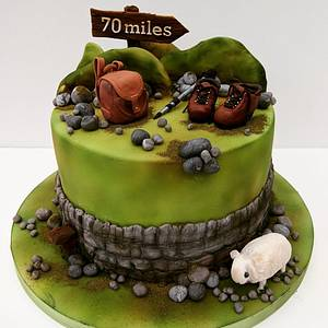 Hill Walking in Wales - Cake by The Rosehip Bakery