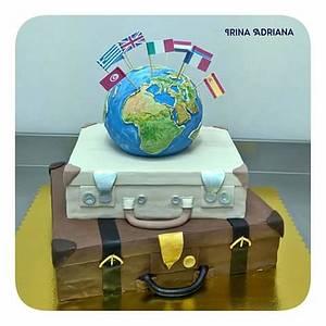 Travel Around the World - Cake by Irina-Adriana