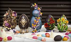 EASTER CHOCOLATE EGGS - Cake by MLADMAN