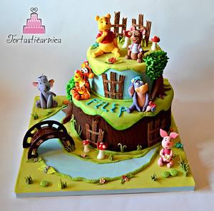 Winnie Pooh and friends - Cake by Nataša