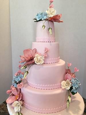 Springtime cake - Cake by Pinkvelvet