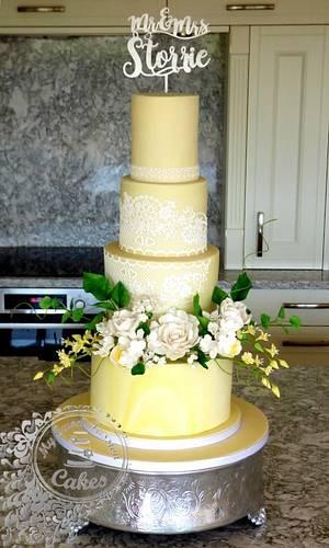 Wedding Cake  - Cake by Beata Khoo