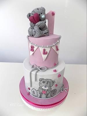 Me to You bear  - Cake by MOLI Cakes