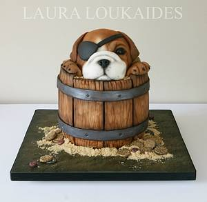 Ben the Bulldog - Cake by Laura Loukaides