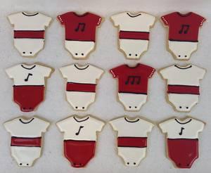 Baby Shower Sugar Cookie Favors - Cake by Xiomara Ortiz-Bevel