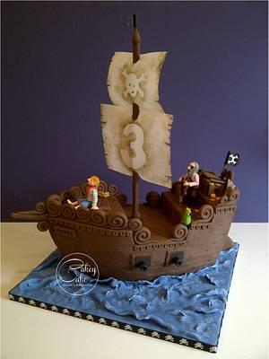 Pirates! - Cake by CakeyCake