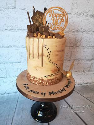 Harry Potter cake - Cake by Sue's Sugar Art Bakery