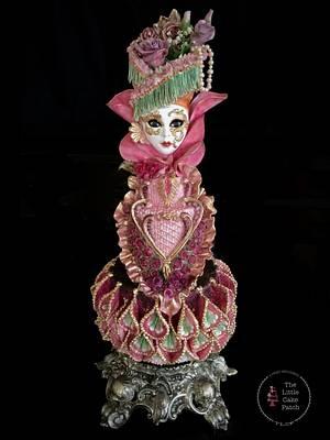 Venetian Carnival Collaboration  - Cake by Joanne Wieneke