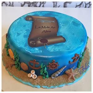 Marine theme cake - Cake by Felis Toporascu