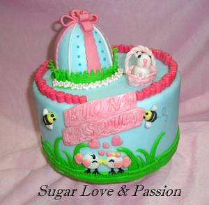 Easter Time - Cake by Mary Ciaramella (Sugar Love & Passion)