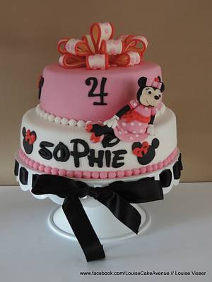 Minnie mouse - Cake by Louise