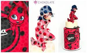 Miracoulous Ladybug Birthday cake - Cake by ChokoLate