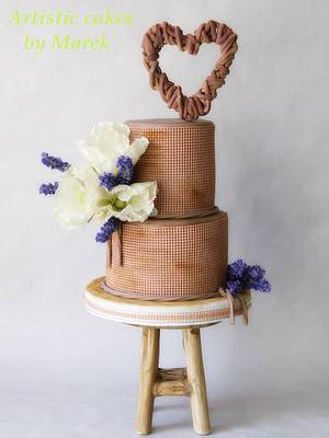 Country wedding - Cake by Marek