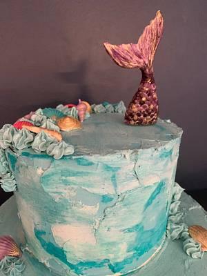 Mermaid cake - Cake by Sneakyp73