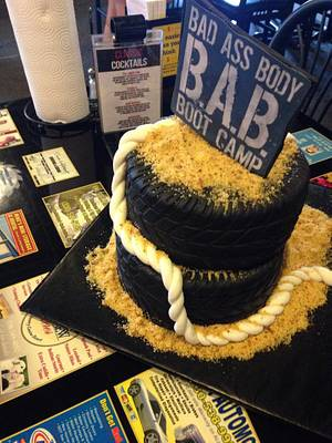 Bootcamp Cake - Cake by Sweet Owl Custom Cakes
