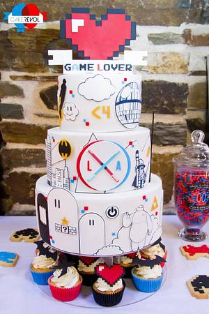 Game Lover  - Cake by CAKE RÉVOL