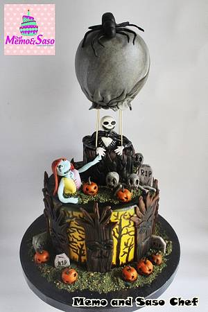 CPC Halloween 2017 collaboration - Cake by Mero Wageeh