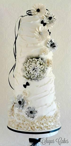 """Black & White Affair"" - Cake by Sugar Cakes"