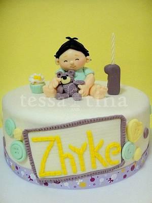 cutie - Cake by tessatinacakes